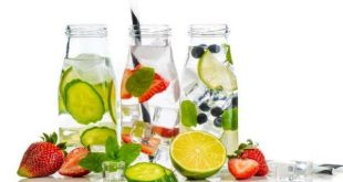 Minuman sehat infused water