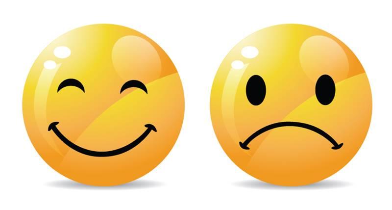 bahagia dan sedih