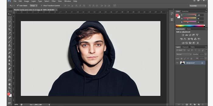 edit background foto